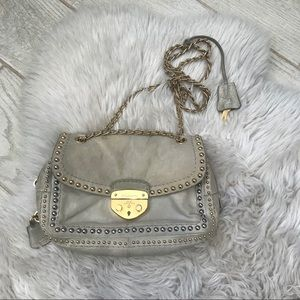 Studded Prada crossbody